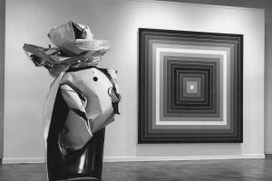 John Chamberlain / Frank Stella