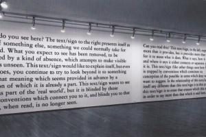 Joseph Kosuth: Text / Context