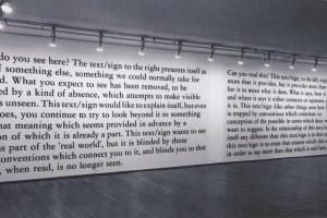 Joseph Kosuth: Text / Context