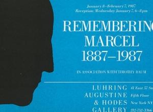 Remembering Marcel, 1887 - 1987