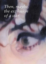 Johannes Kahrs Then, maybe, the explosion of a star
