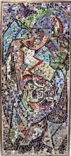 Jackson Pollock mosaic