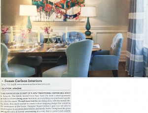 ANTOINETTE WYSOCKI's is featured in Westchester HOME magazine