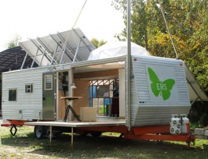 All trailer, no trash: Rice Gallery's latest exhibit goes green