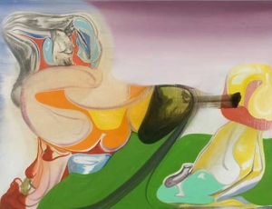 Elliott Green: Personified Abstraction at D'Amelio Terras
