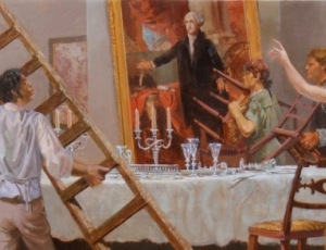 "CBS ""Sunday Morning"" Features William Woodward's Dolley Madison Mural"