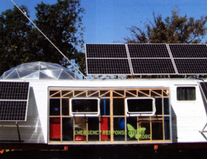 The Artistic Greening of a  FEMA-Style Trailer