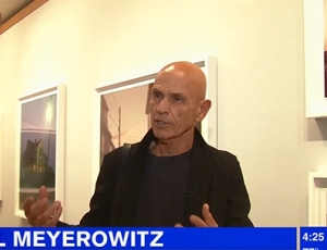 WATCH: Joel Meyerowitz Interviewed by WABC-TV