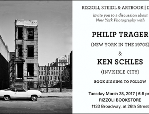 Ken Schles Discussion and Book Signing: March 28th