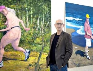 Michael Kvium: Jeg maler altid min egen blindhed