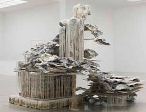 Phantom Limb is artist Diana Al-Hadid´s first solo show in the Middle East