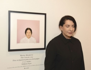 "Marina Abramović's ""No Selfies"" Show Comes to Sean Kelly"