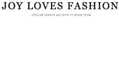 "JOY LOVES FASHION - JLF SPECIAL: ARTIST IKE UDE'S ""STYLE & SYMPATHIES"""