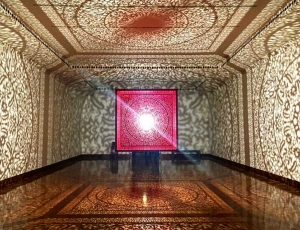 Anila Quayyum Agha at the Cincinnati Art Museum