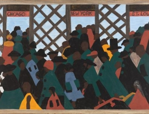 """Jacob Lawrence: The Migration Series"" at Seattle Art Museum"