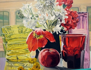 "Current Exhibition: ""Janet Fish: Pinwheels and Poppies, Paintings 1980-2008"""