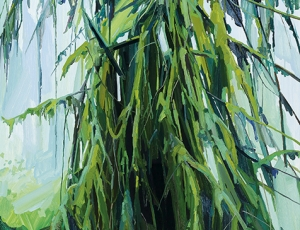 Fern Canyon Paintings by Claire Sherman