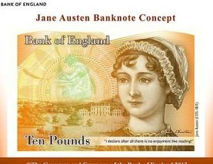 Isabel Bishop drawing on English banknote