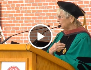 Audrey Flack receives Honory Doctorate