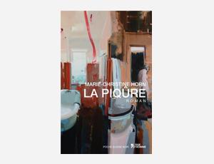 ALEX KANEVSKY ILLUSTRATED on cover of the novel LA PIQÛRE