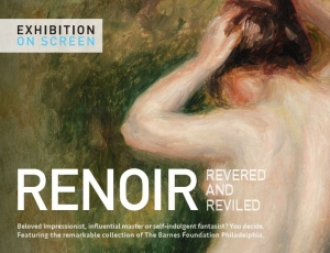 Bill Scott in the film RENOIR REVERED AND REVILED