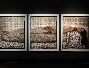Lalla Essaydi at the Canadian War Museum