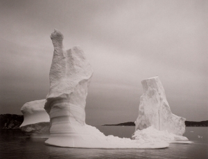 Lynn Davis: Ice in The New York Times Art in Review