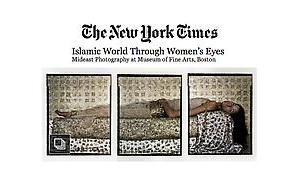 Lalla Essaydi at MFA Boston in The New York Times