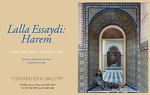 Lalla Essaydi: Harem exhibition opens at Edwynn Houk Gallery in New York