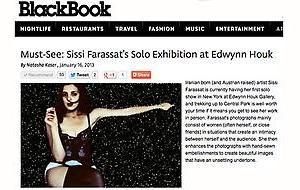 Sissi Farassat in BlackBook Magazine