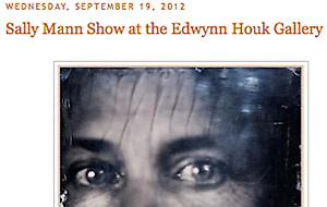 """Southern Photography blog explores the Southern roots of Sally Mann's """"Upon Reflection"""""""