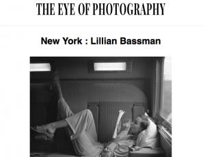 Lillian Bassman in L'Oeil de la Photographie