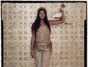 """I AM"" exhibition featuring Lalla Essaydi"