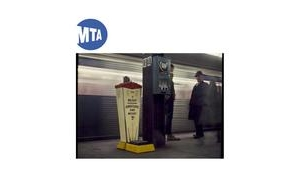 The MTA displays Danny Lyon photographs at Atlantic Ave - Barclays Center station in Brooklyn