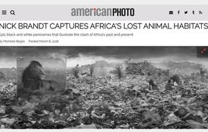 Nick Brandt in American Photo