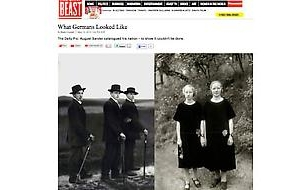 August Sander review in the Daily Beast