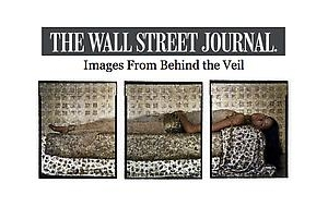 "Lalla Essaydi Featured in The Wall Street Journal for ""She Who Tells A Story"""
