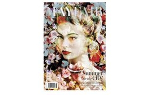 Black Eyed Susan on Mayfair Magazine's Cover
