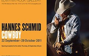 Hannes Schmid: Cowboy opens at the Edwynn Houk Gallery
