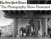 Edwynn Houk Gallery at AIPAD featured in The New York Times