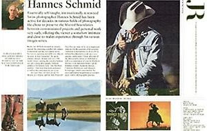 JRP Ringier Reviews Hannes Schmid's cowboy series