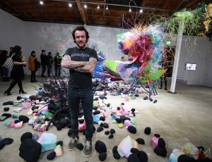 Arne Quinze Opens Jungle Cities in the City of Angels