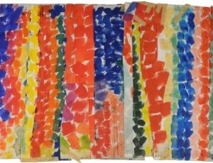 Alma Thomas: Thirteen Studies for Paintings