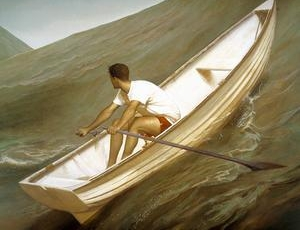 Bo Bartlett at the Mennello Museum of American Art, Orlando, FL