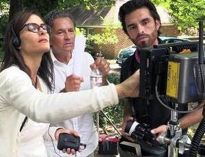 Bo Bartlett works on feature-length film