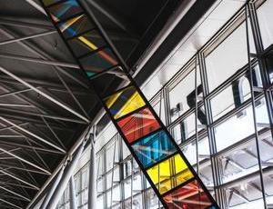 Stephen Dean at Zurich Airport