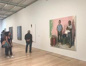 John Sonsini at the Whitney Museum of American Art