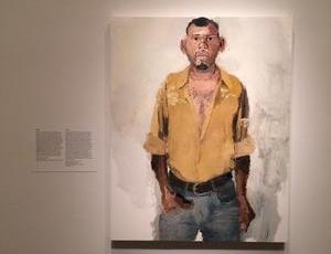 John Sonsini at National Portrait Gallery, Washington D.C.