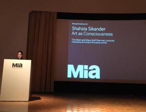 """SHAHZIA SIKANDER: """"ART AS CONSCIOUSNESS"""""""