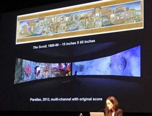 Shahzia Sikander Speaking at 2017 Islamic Art Symposium